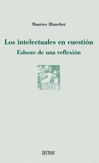 Libro LOS INTELECTUALES EN CUESTION: ESBOZO DE UNA REFLEXION