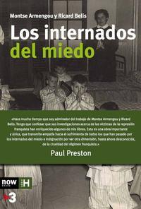 Libro LOS INTERNADOS DEL MIEDO