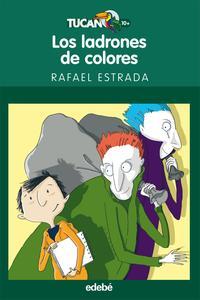 Libro LOS LADRONES DE COLORES