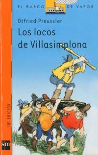 Libro LOS LOCOS DE VILLASIMPLONA
