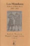 Libro LOS MIRADORES: 30 HORAS DE RELATO BREVE 2002-2003