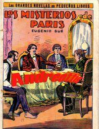 Libro LOS MISTERIOS DE PARIS