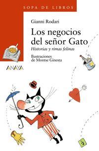 Libro LOS NEGOCIOS DEL SEÑOR GATO