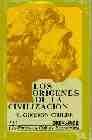 Libro LOS ORIGENES DE LA CIVILIZACION