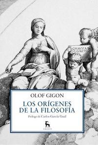 Libro LOS ORIGENES DE LA FILOSOFIA