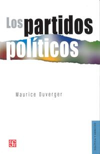 Libro LOS PARTIDOS POLITICOS