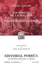 Libro LOS PIRATAS DE LA MALASIA; LOS ESTRANGULADORES
