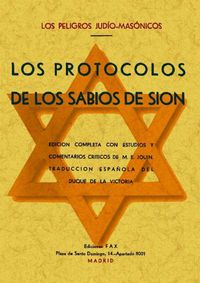 Libro LOS PROTOCOLOS DE LOS SABIOS DE SION