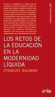 Libro LOS RETOS DE LA EDUCACION EN LA MODERNIDAD LIQUIDA