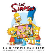 Libro LOS SIMPSON: LA HISTORIA FAMILIAR