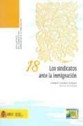 Libro LOS SINDICATOS ANTE LA INMIGRACION