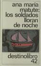 Libro LOS SOLDADOS LLORAN DE NOCHE