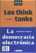 Libro LOS THINK TANKS: LA DEMOCRACIA ELECTRONICA