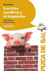 Libro LOS TRES CERDITOS Y EL INSPECTOR
