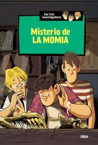 Libro LOS TRES INVESTIGADORES 3 : MISTERIO DE LA MOMIA
