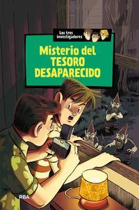 Libro LOS TRES INVESTIGADORES 5 :MISTERIO DEL TESORO DESAPARECIDO