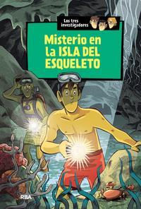 Libro LOS TRES INVESTIGADORES 6: MISTERIO EN LA ISLA DEL ESQUELETO