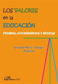 Libro LOS VALORES EN LA EDUCACION