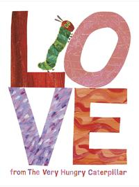 Libro LOVE FROM THE VERY HUNGRY CATERPILLAR