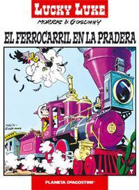 Libro LUCKY LUKE Nº 2: EL FERROCARRIL EN LA PRADERA