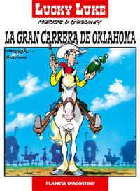 Libro LUCKY LUKE Nº 6: LA GRAN CARRERA DE OKLAHOMA
