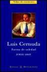 Libro LUIS CERNUDA: FUERZA DE SOLEDAD