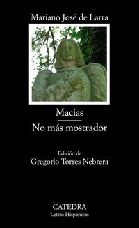 Libro MACIAS; NO MAS MOSTRADOR