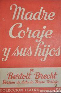 Libro MADRE CORAJE Y SUS HIJOS