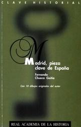 Libro MADRID, PIEZA CLAVE DE ESPAÑA