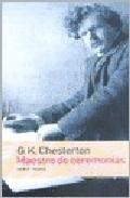 Libro MAESTRO DE CEREMONIAS