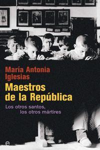 Libro MAESTROS DE LA REPÚBLICA