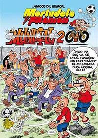 Libro MAGOS DEL HUMOR Nº 137: MORTADELO Y FILEMON MUNDIAL 2010