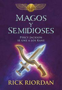 Libro MAGOS Y SEMIDIOSES