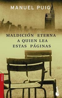 Libro MALDICION ETERNA A QUIEN LEA ESTAS PAGINAS