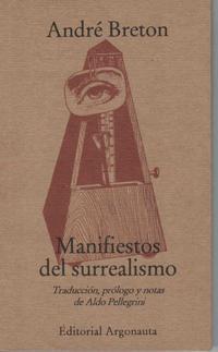 Libro MANIFIESTOS DEL SURREALISMO