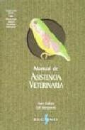 Libro MANUAL DE ASISTENCIA VETERINARIA