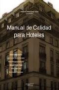 Libro MANUAL DE CALIDAD PARA HOTELES