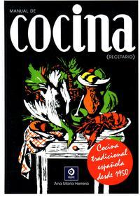 Libro MANUAL DE COCINA