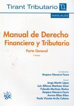 Libro MANUAL DE DERECHO FINANCIERO Y TRIBUTARIO PARTE GENERAL 2ª ED.