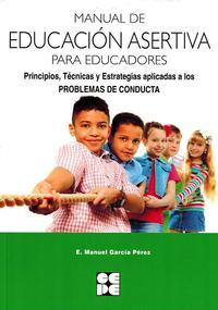 Libro MANUAL DE EDUCACION ASERTIVA PARA EDUCADORES