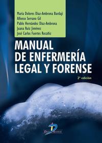Libro MANUAL DE ENFERMERIA LEGAL Y FORENSE