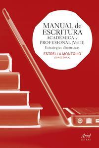Libro MANUAL DE ESCRITURA ACADEMICA Y PROFESIONAL