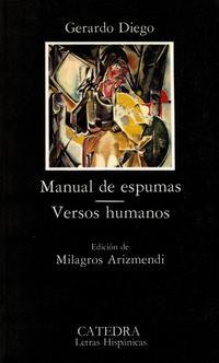 Libro MANUAL DE ESPUMAS; VERSOS HUMANOS