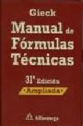 Libro MANUAL DE FORMULAS TECNICAS