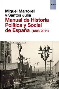 Libro MANUAL DE HISTORIA POLITICA Y SOCIAL DE ESPAÑA