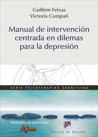 Libro MANUAL DE INTERVENCION CENTRADA EN DILEMAS PARA LA DEPRESION