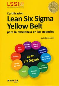 Libro MANUAL DE LEAN YELLOW BELT