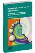 Libro MANUAL DE OBSERVACION PSICOMOTRIZ