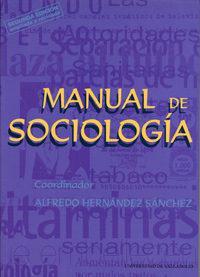Libro MANUAL DE SOCIOLOGIA
