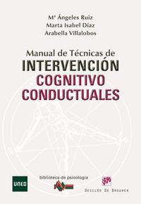 Libro MANUAL DE TECNICAS DE INTERVENCION COGNITIVO CONDUCTUALES